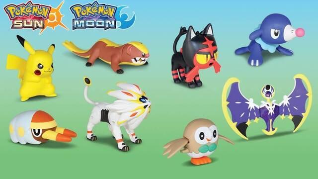 Pokémon y McDonald's América anuncian juguetes de Ultrasol / Ultraluna