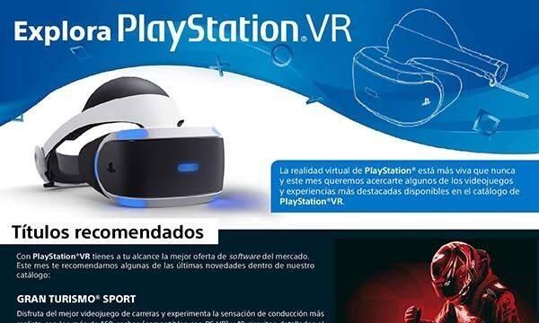 Sony repasa las novedades de PlayStation VR para este mes