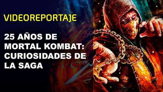 25 años de Mortal Kombat: Curiosidades de la saga
