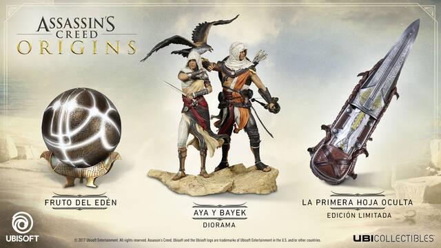 Assassin's Creed Origins nos muestra en vídeo sus figuras y réplicas