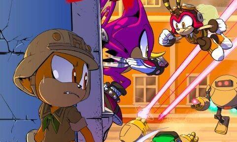 Ya está disponible el primer capítulo del cómic de Sonic Forces