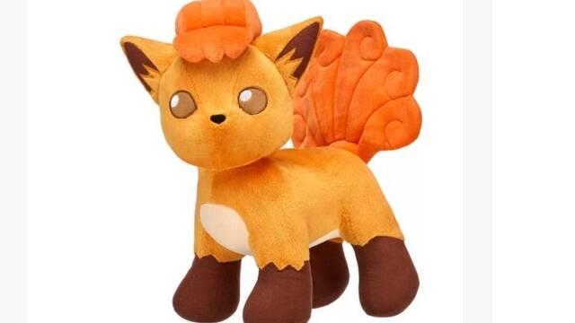 Vulpix se suma a la colección de peluches de Pokémon Build-A-Bear