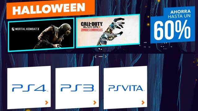 Llegan las rebajas de Halloween a PlayStation Store