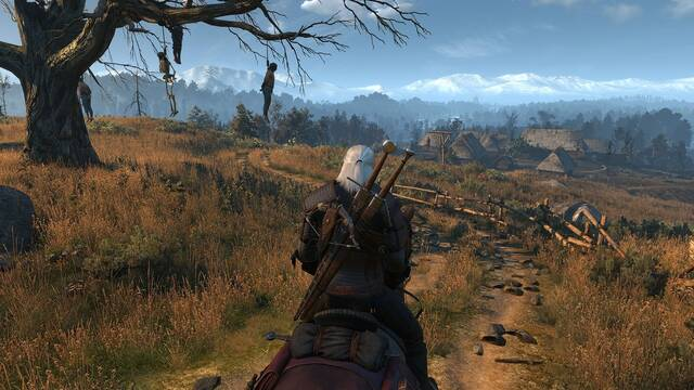 Un 'mod' mejora sensiblemente la hierba en The Witcher 3