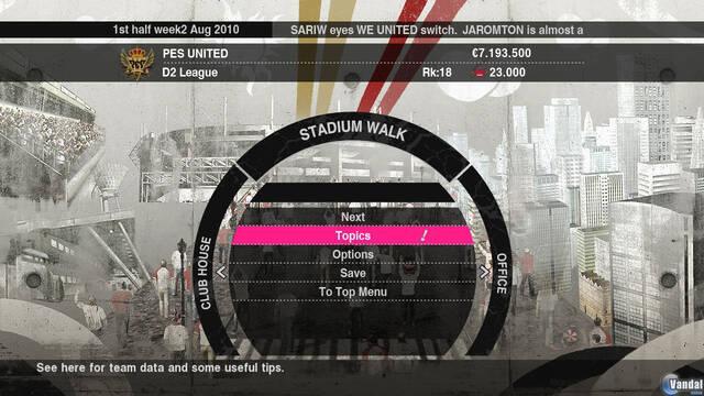 Konami muestra la Liga Master en Pro Evolution Soccer 2010