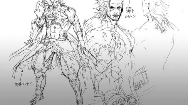 Nuevos bocetos e ilustraciones de Metal Gear Rising: Revengeance