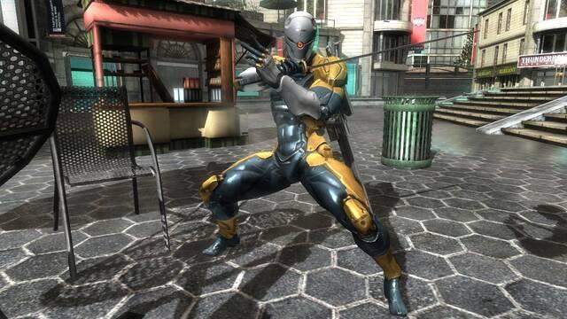 Cyborg Ninja protagoniza las nuevas im�genes de Metal Gear Rising