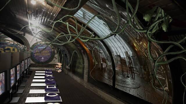 Sony reabrir� una estaci�n abandonada del metro de Madrid para Wonderbook