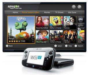 El servicio de vídeo de Amazon, disponible en Wii U
