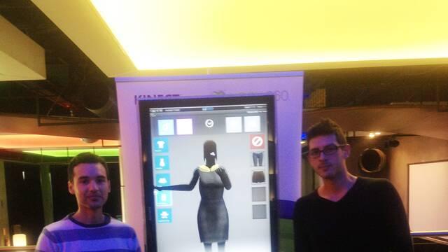 Crean un Vestidor Virtual para Kinect