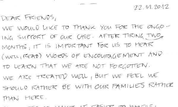 Los desarrolladores de ArmA que llevan 80 días detenidos envían una carta