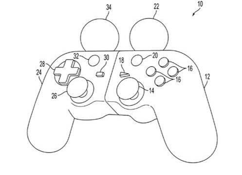 Sony patentó un mando híbrido entre DualShock y PlayStation Move