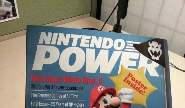 Nintendo Power se autohomenajea en su �ltimo n�mero