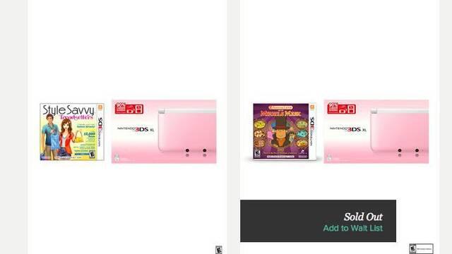 La Nintendo 3DS XL rosa llega a América