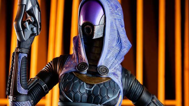 Gaming Heads presenta su figura de Tali, de Mass Effect