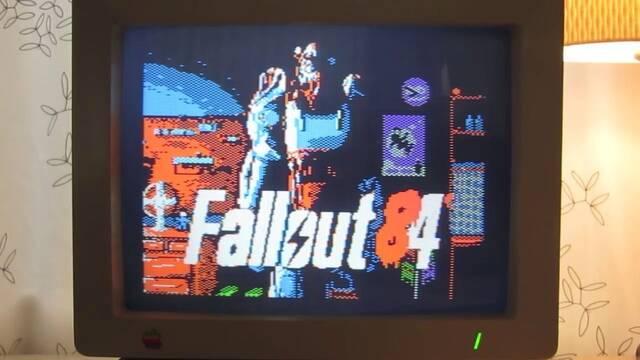 Imaginan cómo sería Fallout 4 en el ordenador Apple 2 de 1984