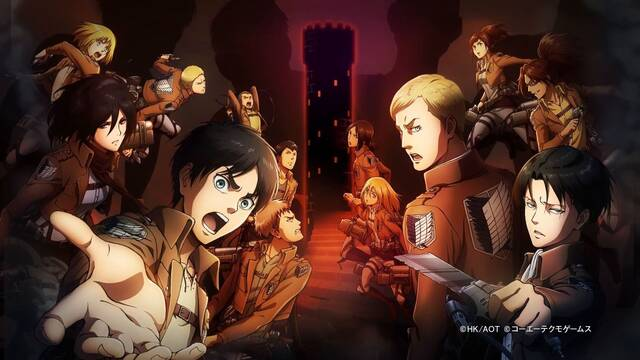 Primer tráiler de Attack on Titan: Escape from Certain Death