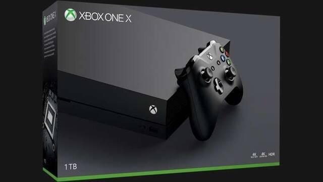 Xbox One X no tendrá packs oficiales estas Navidades