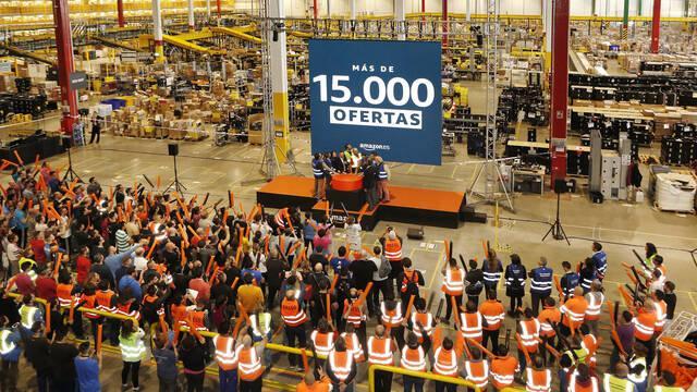 Amazon España prepara más de 15.000 ofertas para celebrar el Black Friday