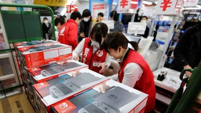Nintendo Switch sigue siendo la consola más vendida de la semana en Japón