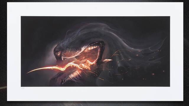 Dark Souls III estrena nuevas láminas de arte para coleccionistas