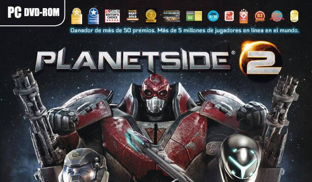 Planetside 2 tendrá una edición física en España