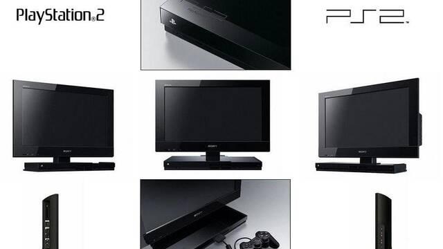 Sony lanza una televisión con PlayStation 2 integrada