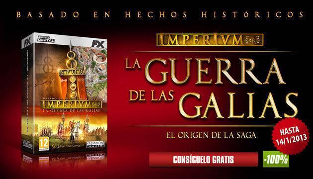FX Interactive regala el primer juego de la saga Imperivm