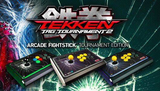 Lanzado el arcade stick oficial de Tekken Tag Tournament 2