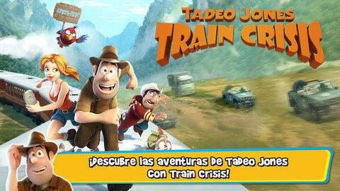 Anunciado Tadeo Jones: Train Crisis