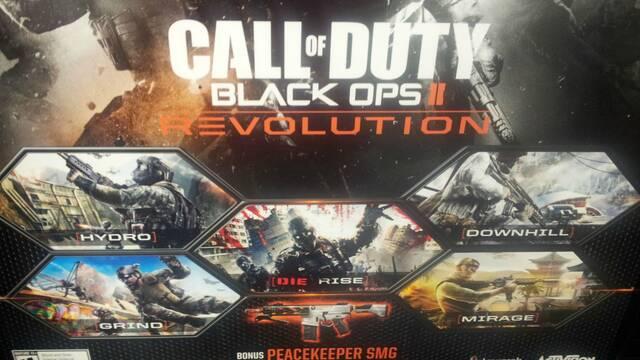 Filtrado un paquete de mapas para COD: Black Ops II