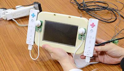 El 'prototipo' del GamePad fueron dos Wiimotes pegados a un monitor