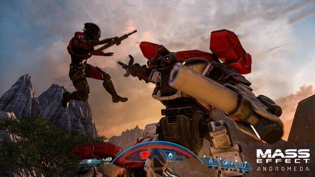 Primer gameplay de Mass Effect Andromeda