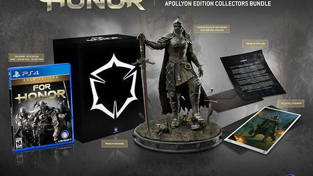 GameStop presenta su edición de coleccionistas exclusiva para For Honor
