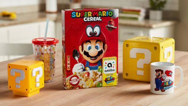 Así funciona el amiibo de los cereales de Super Mario en Super Mario Odyssey