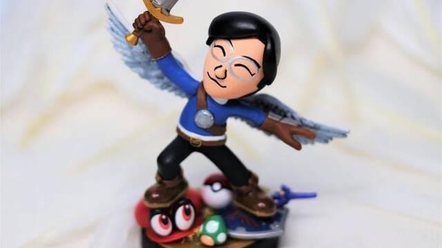 Una artista crea un amiibo en homenaje al fallecido Satoru Iwata