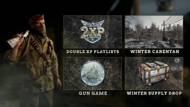 Call of Duty: WWII detalla el evento Asedio Invernal