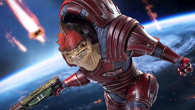 La estatua limitada de Wrex de Mass Effect ya puede reservarse