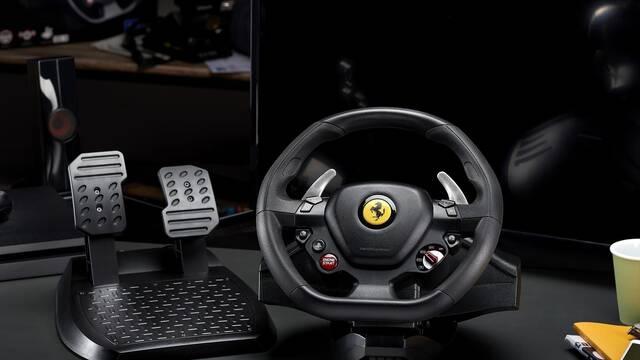 Así es la réplica del volante del Ferrari 488 compatible con PlayStation 4