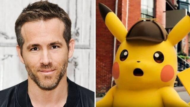Ryan Reynolds será Pikachu en Detective Pikachu