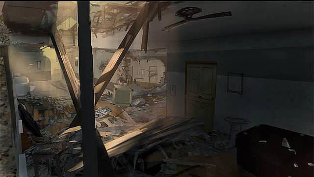 Se muestra el arte conceptual de Call of Duty: Modern Warfare 3