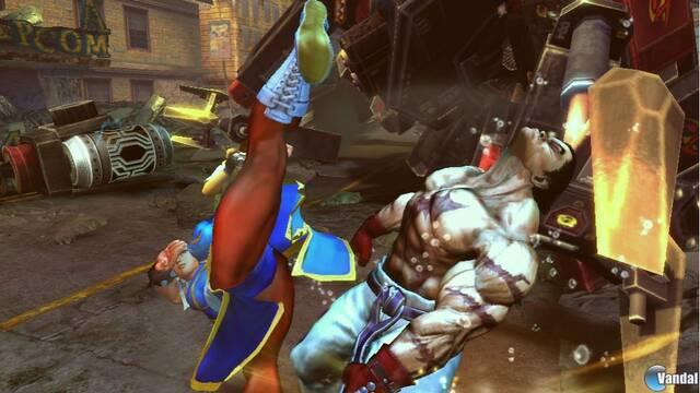 Primeras imágenes de Street Fighter vs. Tekken