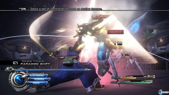Primeras imágenes de Final Fantasy XIII-2