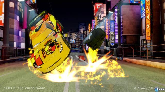 Nuevo tráiler e imágenes de Cars 2