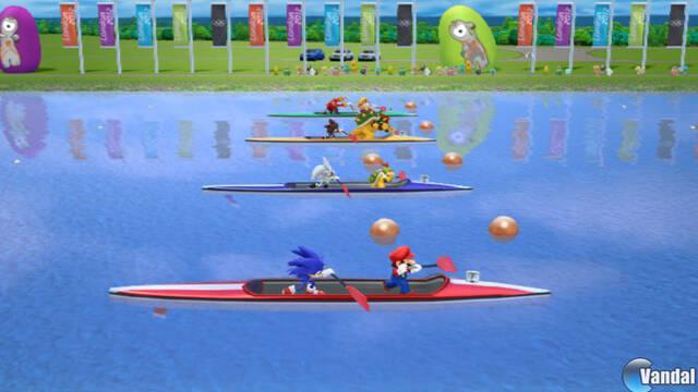 Nuevas imágenes de Mario y Sonic en los Juegos Olímpicos de Londres