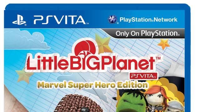 LittleBigPlanet Vita tendrá una edición especial con multitud de contenidos de Marvel