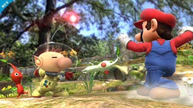 Olimar y sus Pikmin se presentan en Super Smash Bros. Wii U