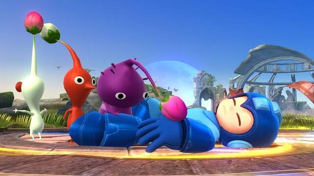 Mega Man, Samus y el Aldeano de Animal Crossing en las nuevas im�genes de Super Smash Bros.