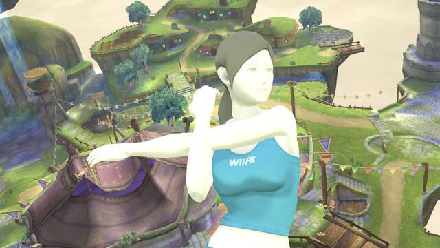 Ponte en forma con las nuevas imágenes de Super Smash Bros.