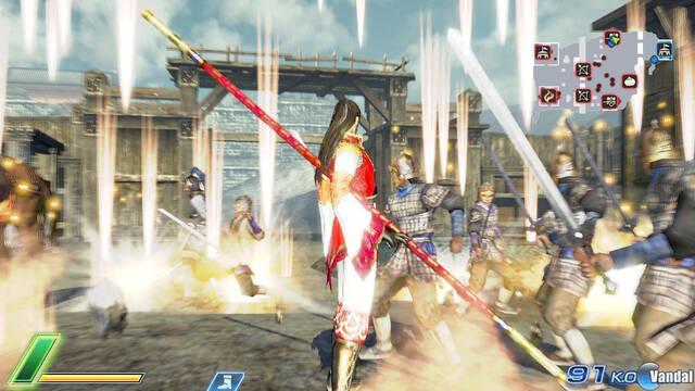 Nuevas imágenes de Dynasty Warriors para PS Vita